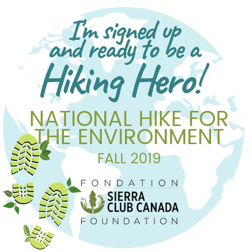 I'm signed up as a Hiking Hero social media square image