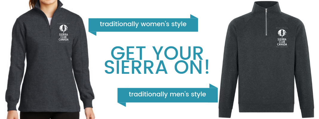 Receive a Sierra quarter-zip top when you donate $250
