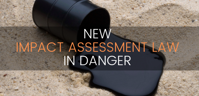 Impact Assessment Law in Danger