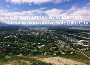 view of Salt Lake City