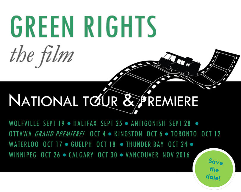 Green Rights film tour - header image