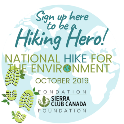Sign up to be a Hiking Hero for the planet!
