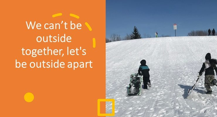 Sierra Club Wild Child: we can't be outside together, let's be outside apart