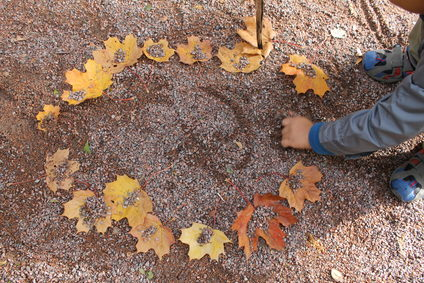 Making art in Nature helps us find beauty and learn about our impacts