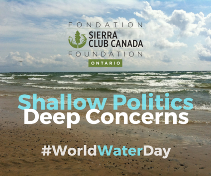 Shallow Politics, Deep Concerns. #WorldWaterDay