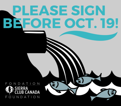 Please sign before Oct. 19!