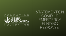 Statement on COVID-19 Emergency Funding Response