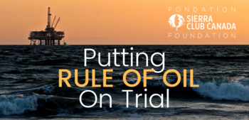 Putting Rule Of Oil On Trail